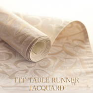 FFF TABLE RUNNER JACQUARD