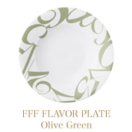 FFF FLAVOR PLATE  (Olive Green)