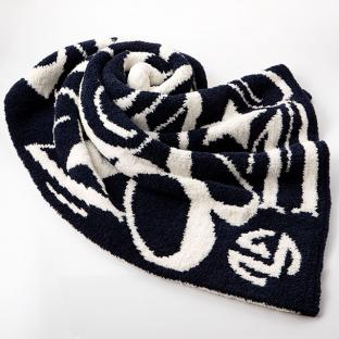 Half Blanket Star Navy