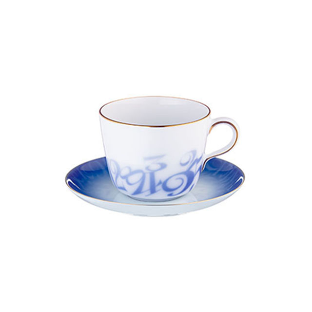 Le Grand Bleu Morning Cup & Saucer