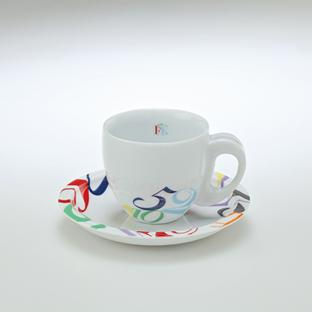 Color Dreams Coffee Cup & Saucer