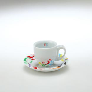 Color Dreams Demitasse Cup & Saucer